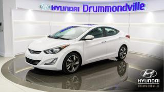 Used 2015 Hyundai Elantra LIMITED + GARANTIE + NAVI + TOIT + MAGS for sale in Drummondville, QC