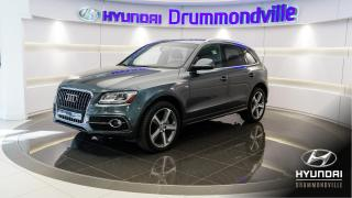 Used 2013 Audi Q5 PREMIUM PLUS + S-LINE + NAVI !! for sale in Drummondville, QC
