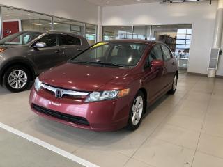 Used 2008 Honda Civic 4 portes, boîte manuelle, LX for sale in Beauport, QC