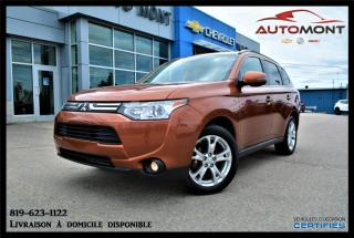 Used 2014 Mitsubishi Outlander Gt + Awd + T.ouvrant for sale in Mont-Laurier, QC