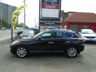 Used 2008 Infiniti EX35 LUXURY/ SUPER CLEAN / AWD / LEATHER / ROOF / ALLOY for sale in Scarborough, ON