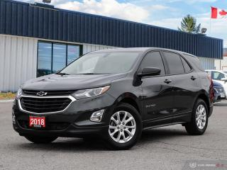 Used 2018 Chevrolet Equinox LS,R/V CAM,B.TOOTH,HEATED SEATS for sale in Barrie, ON