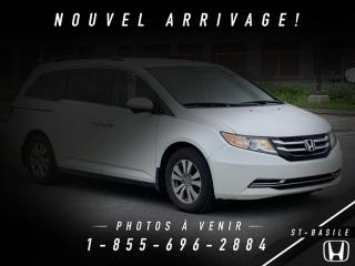 Used 2014 Honda Odyssey EX 8 PASSAGERS + CAMERA + BLUETOOTH !! for sale in St-Basile-le-Grand, QC
