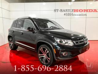 Used 2017 Volkswagen Tiguan Highline TSI + R-LINE + NAVI + CUIR + PA for sale in St-Basile-le-Grand, QC