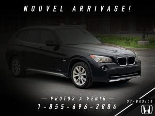 Used 2012 BMW X1 28i X-DRIVE AWD for sale in St-Basile-le-Grand, QC