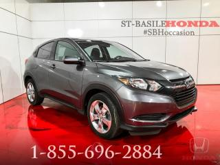 Used 2016 Honda HR-V LX BLUETOOTH + A/C + BAS KILO + CAMERA for sale in St-Basile-le-Grand, QC