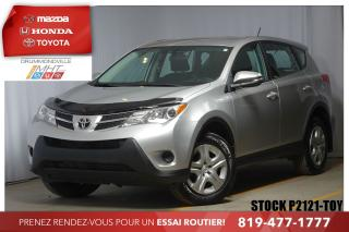 Used 2015 Toyota RAV4 LE* INTÉGRALE* CRUISE* CLIMATISEUR*I for sale in Drummondville, QC