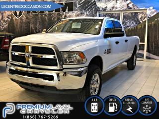 Used 2018 RAM 2500 2500 SLT*CREW/DIESEL/BOITE 8 PIED/4X4* for sale in Laval, QC