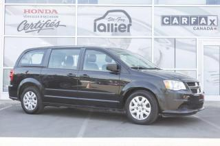 Used 2015 Dodge Grand Caravan CANADIAN VALUE PACKAGE ***JAMAIS ACCIDEN for sale in Québec, QC