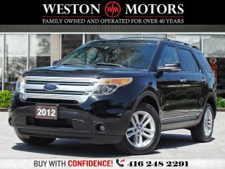 Used 2012 Ford Explorer XLT*AWD*7PASS*SUNROOF*BTOOTH*REVERSE CAM* for sale in Toronto, ON