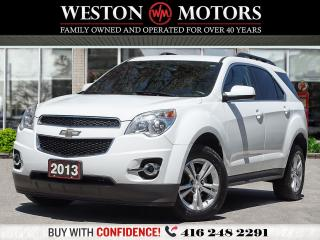 Used 2013 Chevrolet Equinox LT*SUNROOF*LEATHER*BTOOTH*REVERSE CAM!!* for sale in Toronto, ON