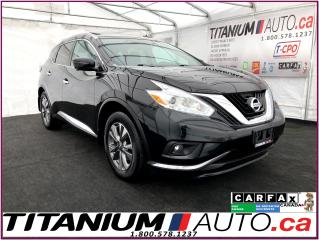 Used 2016 Nissan Murano SL+AWD+GPS+360 Camera+Blind Spot+Pano Roof+Leather for sale in London, ON