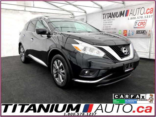 2016 Nissan Murano SL+AWD+GPS+360 Camera+Blind Spot+Pano Roof+Leather
