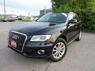 Used 2015 Audi Q5 Quattro/PanoRoof/Navigation/RevCam/BlindSpot for sale in BRAMPTON, ON