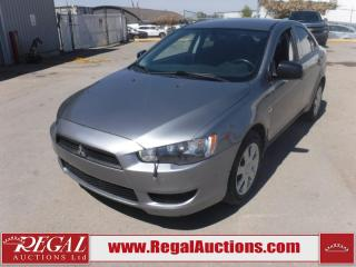 Used 2015 Mitsubishi Lancer DE 4D Sedan 5SP FWD 2.4L for sale in Calgary, AB