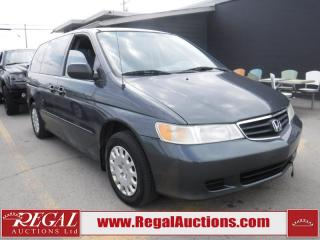 Used 2004 Honda Odyssey 4D WAGON for sale in Calgary, AB