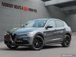 Used 2018 Alfa Romeo Stelvio Ti-Q4 Ribelle Edizione*Adaptive*Dark Tecnico Whls for sale in Mississauga, ON