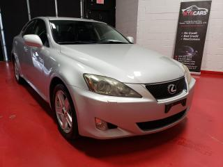 Used 2006 Lexus IS 250 CERTIFIED FREE WARRANTY LOCAL 2 OWNERS NO ACC for sale in North York, ON