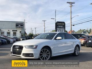 Used 2015 Audi A4 2.0T Progressiv S-LINE  LEATHER  ROOF  NAVI  BACKU for sale in Ottawa, ON