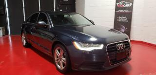 Used 2013 Audi A6 2.0T Premium CERTIFIED NAV FREE WARRANTY for sale in North York, ON