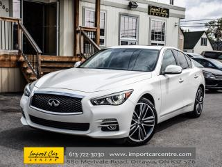 Used 2015 Infiniti Q50 LIMITED LEATHER ROOF NAV BK.CAM BOSE WOW!! for sale in Ottawa, ON