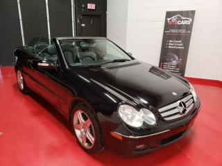 Used 2007 Mercedes-Benz CLK CERTIFIED CONVERTIBLE for sale in North York, ON
