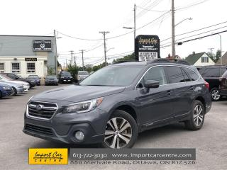 Used 2018 Subaru Outback 2.5i Limited EYE-SIGHT  LEATHER  ROOF  NAVI  BLIS for sale in Ottawa, ON