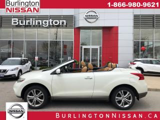Used 2011 Nissan Murano CrossCabriolet NAVI, AWD, LEATHER for sale in Burlington, ON