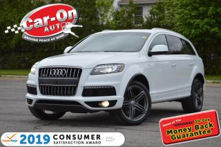 Used 2013 Audi Q7 3.0T Premium LEATHER NAV SUNROOF REAR CAM LOADED for sale in Ottawa, ON