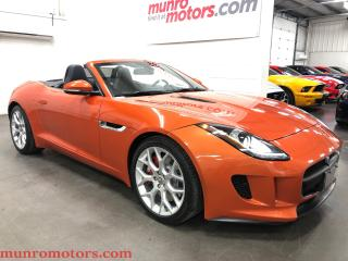 Used 2014 Jaguar F-Type Convertible New Tires and Brakes for sale in St. George Brant, ON