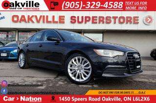 Used 2012 Audi A6 3.0 PREM PLUS | NAV | B/U CAM | HTD SEATS | LOW KM for sale in Oakville, ON