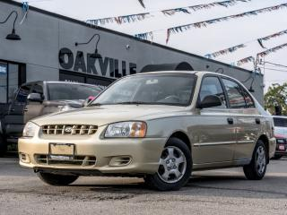 Used 2002 Hyundai Accent 4dr Sdn GL for sale in Oakville, ON