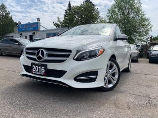Used 2016 Mercedes-Benz B-Class 4dr HB B250 Sports Tourer 4MATIC* UNDER FACTORY WARRANTY* for sale in Brampton, ON