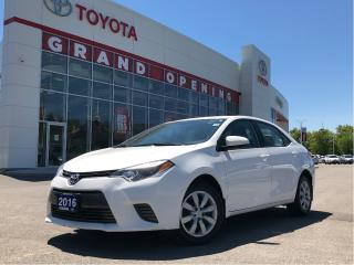 Used 2016 Toyota Corolla LE for sale in Pickering, ON