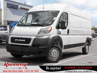 New 2019 RAM 2500 ProMaster 159 High Roof|CRUISE CTRL|NAV|PARK CAMERA for sale in Etobicoke, ON