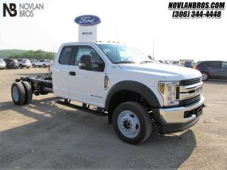 Used 2019 Ford F-550 Chassis CAB XLT  - Bluetooth -  Trailer Hitch for sale in Paradise Hill, SK