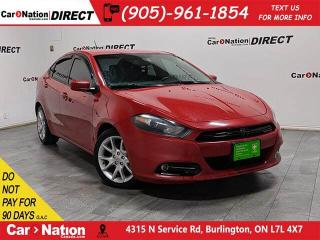 Used 2013 Dodge Dart SXT| AS-TRADED| ALLOYS| BLUETOOTH| for sale in Burlington, ON