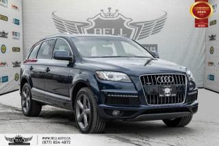 Used 2015 Audi Q7 3.0T Vorsprung Edition,7 PASS,S-LINE, NAVI,PANO ROOF,PUSH START for sale in Toronto, ON