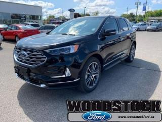 New 2019 Ford Edge Titanium AWD  - Cooled Seats -  Heated Seats for sale in Woodstock, ON