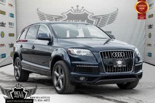 Used 2015 Audi Q7 3.0L TDI Vorsprung Edition, S-LINE, NAVI, BLIND SPOT, BACK-UP CAM, PANO ROOF for sale in Toronto, ON