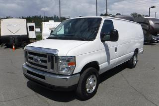 Used 2014 Ford Econoline E-250 Extended Cargo Van with Rear Shelving for sale in Burnaby, BC