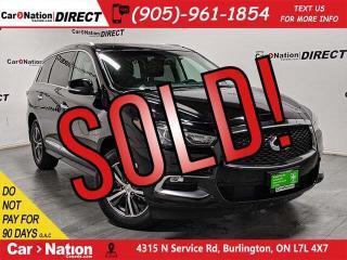 Used 2016 Infiniti QX60 | AWD| NAVI| SUNROOF| LOW KM'S| for sale in Burlington, ON