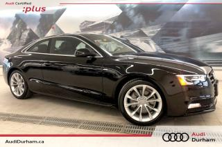 Used 2016 Audi A5 2.0T Komfort plus + Sport Package | Nav | Keyless for sale in Whitby, ON
