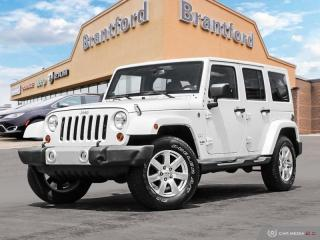 Used 2013 Jeep Wrangler Unlimited Sahara  - $209.05 B/W for sale in Brantford, ON