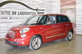 Used 2015 Fiat 500 L Lounge CUIR+TOIT+MAGS+NAVIGATION for sale in Laval, QC