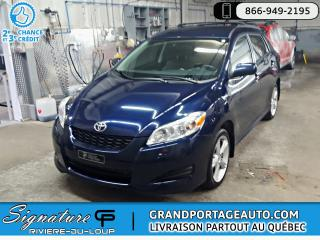 Used 2009 Toyota Matrix XR AWD Auto *RARE* *Clean* for sale in Rivière-Du-Loup, QC