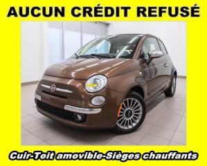 Used 2013 Fiat 500 C Lounge CUIR for sale in St-Jérôme, QC