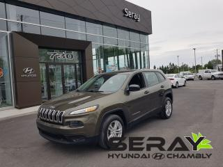 Used 2015 Jeep Cherokee Sport, Mags, A/c for sale in Chambly, QC