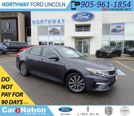 Used 2019 Kia Optima LX+ | PWR HTD SEATS | HTD WHEEL | PUSH START | for sale in Brantford, ON