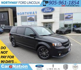 Used 2017 Dodge Grand Caravan GT | HTD LEATHER | POWER DOORS | STOW N GO | for sale in Brantford, ON